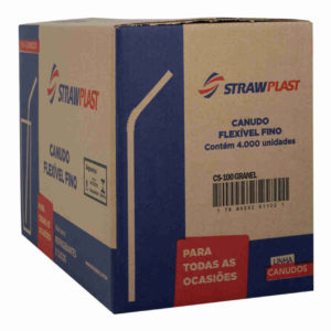 Canudo flexível 4,7mm