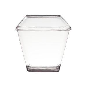 Pote Cristal C/tampa