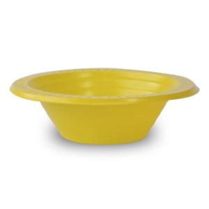 Prato fundo festinha amarelo