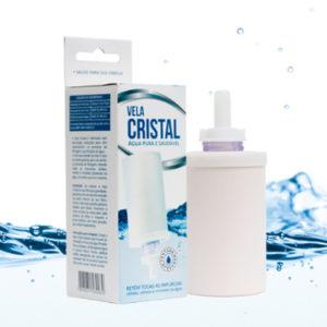 Vela Cerâmica Cristal