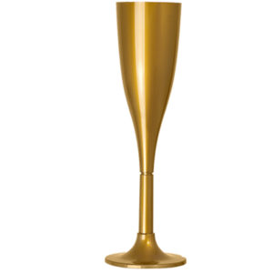 Taça 120ml Dourada