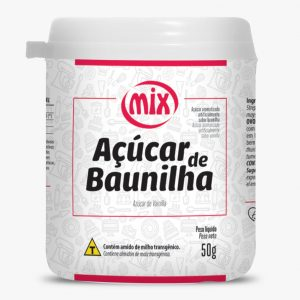 Açúcar de Baunilha 50g Mix