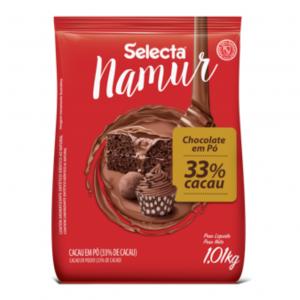 Selecta Namur Chocolate em Pó Sabor 33% Cacau 1,01Kg