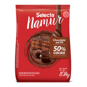 Selecta Namur Chocolate em Pó Sabor 50% Cacau 1,01Kg