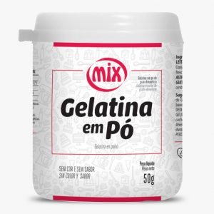 Gelatina em Pó 50g Mix