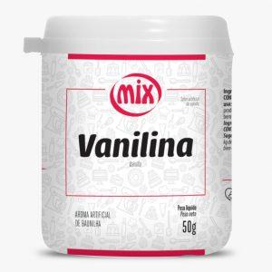 Vanilina em Pó 50g Mix