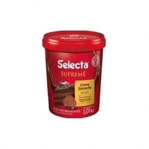 Selecta Supreme Ganache Sabor Chocolate Ao Leite 1,01Kg