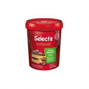Selecta Supreme Ganache Sabor Chocolate com Avelã 1,01Kg