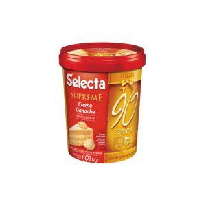 Selecta Supreme Ganache Sabor Chocolate Branco com Champagne 1,01Kg