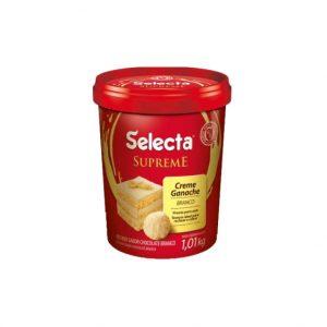 Selecta Supreme Ganache Sabor Chocolate Branco 1,01Kg