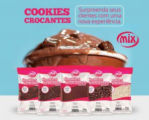 Cookies Crocantes chegam no mercado