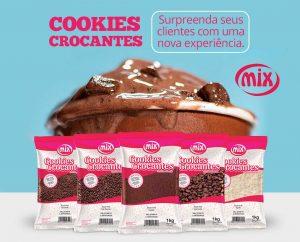 Cookies Crocantes chegam no mercado