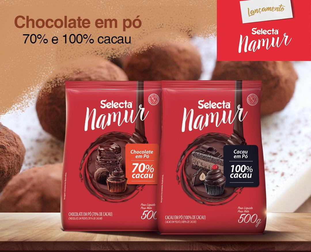Chocolates em pó mais intensos e sofisticados chegam ao mercado