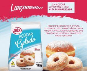Açúcar Gelado é o mais novo produto Mix