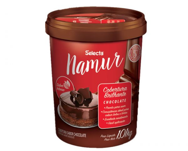Cobertura Brilhante Chocolate Selecta