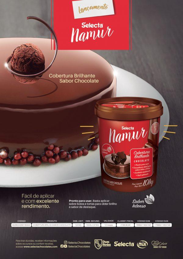 Lamina Chocolatepó E Coberturabrilhante Namur 2