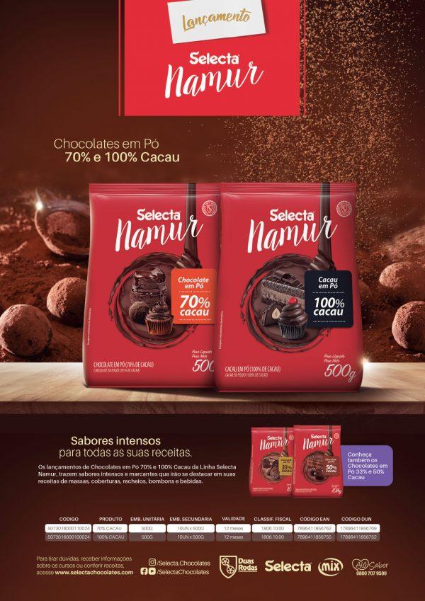 Lamina Chocolatepó E Coberturabrilhante Namur 1