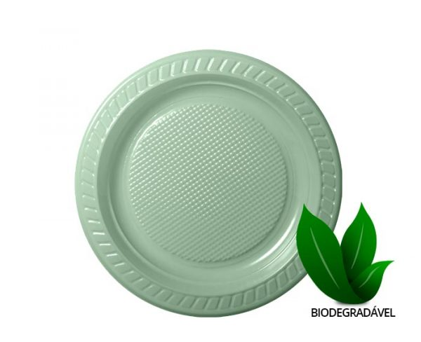 Prato Biodegradavel 21cm Prb021