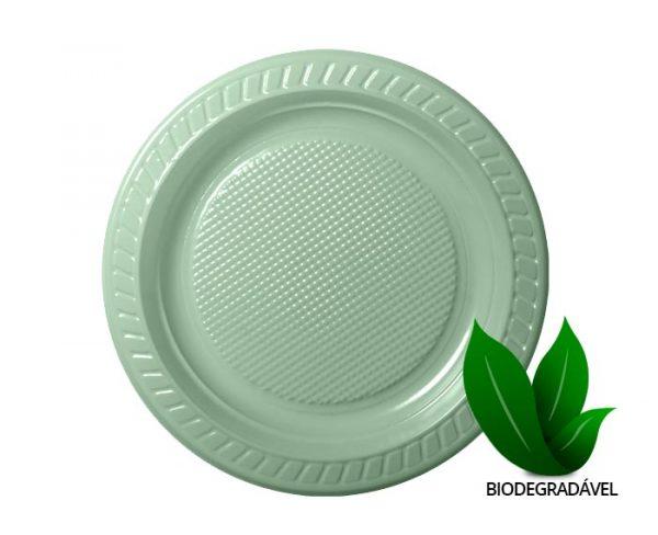 Prato Biodegradavel 23cm Prb023