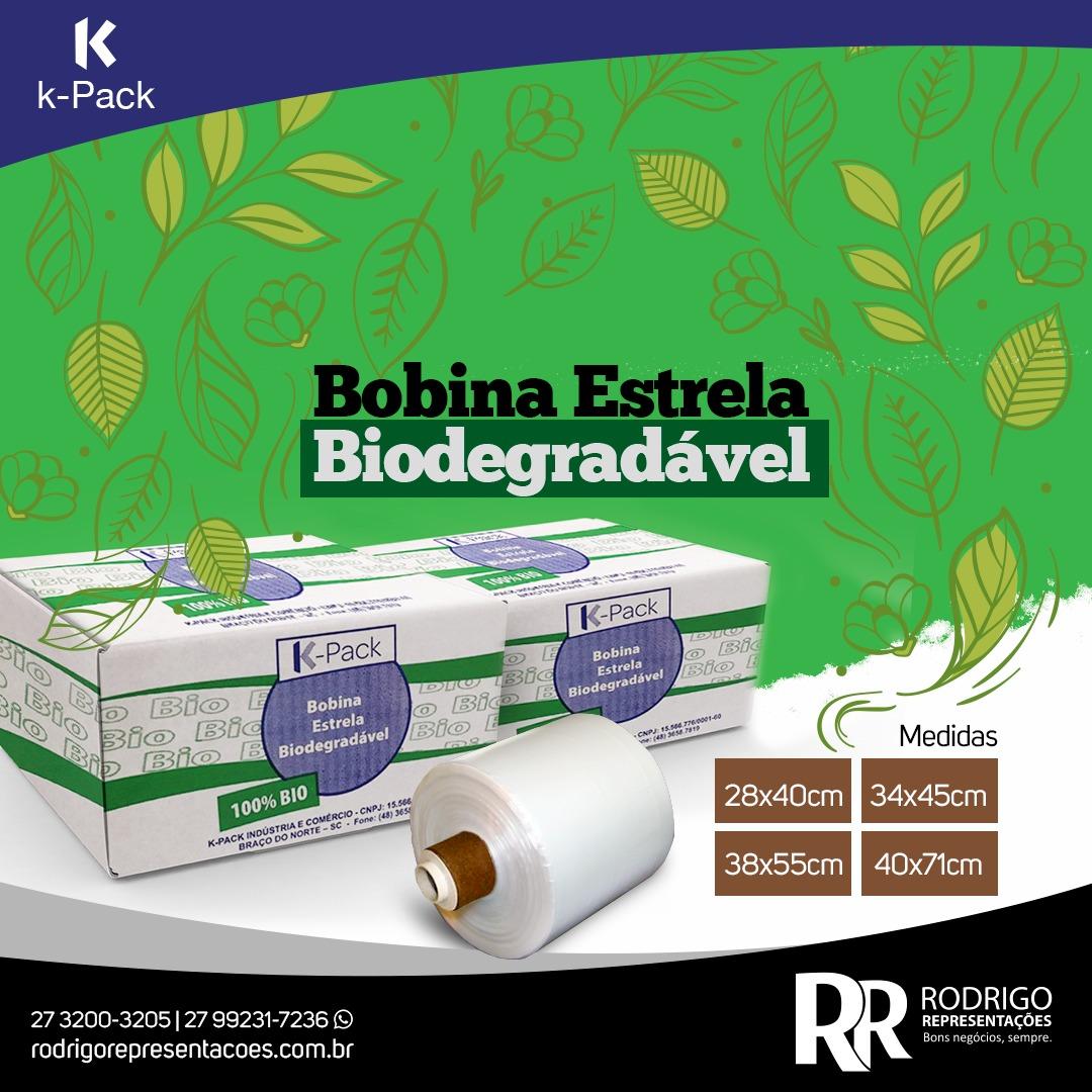 Bobinas biodegradáveis chegam ao mercado