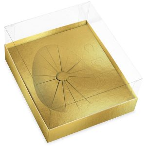 Caixa ovo de páscoa – Ouro