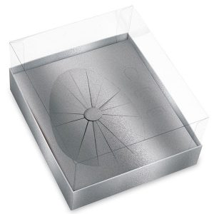 Caixa ovo de páscoa – Prata