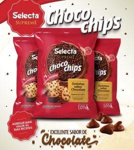 Chocochips gotinhas de chocolate Selecta