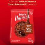 Chocolate Em Po Selecta Namur 50% Cacau