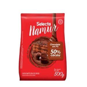 Selecta Namur Chocolate em Pó Sabor 50% Cacau 500g